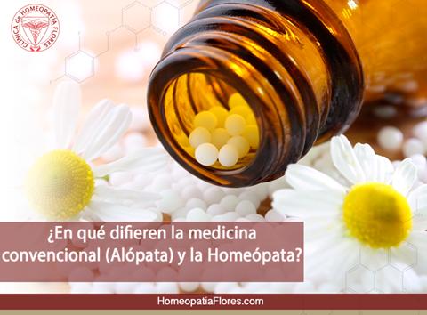 Diferencia entre alopatia y homeopatia