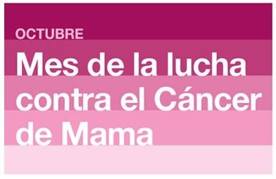 19 de Octubre Dia Mundial de la lucha contra el Cancer de Mama