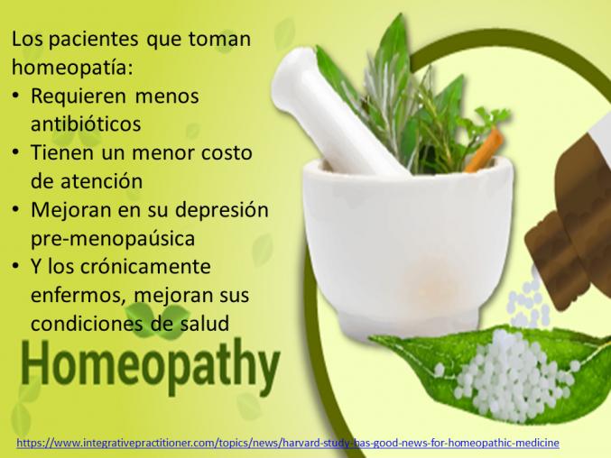 La homeopatia es buena