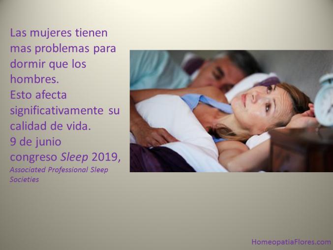 Los problemas para dormir