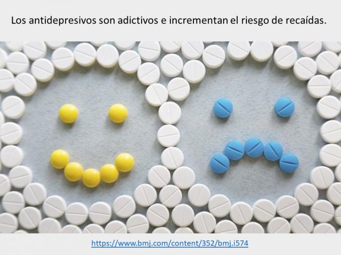 El riesgo de los medicamentos antidepresivos